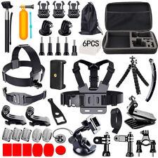 Accessories Kit Mount for Gopro go pro hero 7 6 5 Session 4 3+ SJCAM/Xiaomi yi