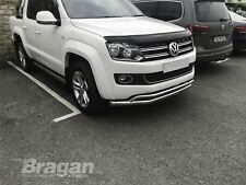 To Fit 2010 - 2016 VW Amarok Smoked Acrylic Bonnet Guard Shield Protector