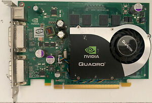 NVIDIA QUADROFX 1700 DUAL DVI-OUT PCI-E VIDEO CARD 512MB 128-bit