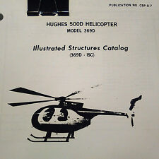 Hughes 500D, Model 369D Illustrated Structures Manual