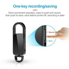 Mini Hidden Audio Recorder Voice Activated Listening Device Keychain MP3 Player