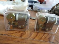 """2 See-Through Music Boxes For Crafts """"Old McDonald,I'd Like To Teach The World"""""""