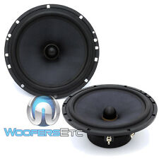 "DIAMOND AUDIO SX-6V MIDS 6.5"" 120W RMS COMPONENT MIDRANGES 4 OHM SPEAKERS NEW"
