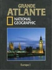 GRANDE ATLANTE NATIONAL GEOGRAPHIC Europa 1 nuovo cellophanato sigillato