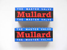 EL34 Mullard Matched Pair valves for Marshall Blackstar amplifier reissue tube