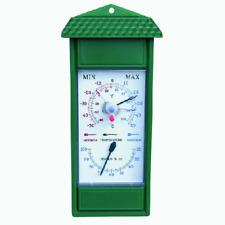 Termometro ignometro in ABS con temperatura minima e massima cm 24,5x11 per este