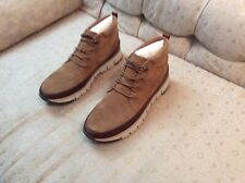 Cole Haan Grand Sport Rugged Chuka For Men (Honey/Dove)  Size 13