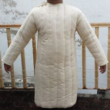 Medieval thick padded 2 Color Gambeson coat,Jacket Armor reenactment Sca