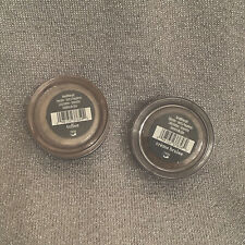 TWO BRAND NEW *BAREMINERALS*  EYECOLOR IN *TOFFEE & CREAM BRULEE* Full Sized