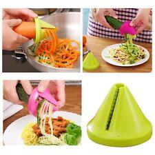 Cortador De Verduras Y Frutas En Espiral Decorador Herramienta De Cocina Menaje