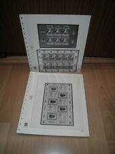 Safe Dual, Österreich Kleinbogen Vordruckblätter, 2002-2012 komplett (1077)