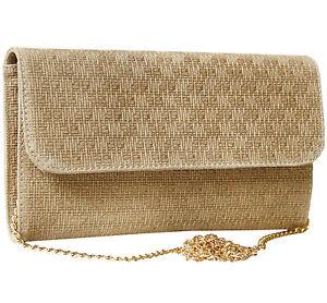 Clutch Wildledertasche Damen Tasche Abendtasche Wildleder Leder geflochten Taupe