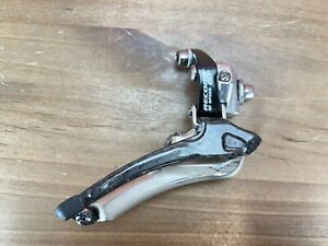Very Nice! Campagnolo Record QS QuickShift Braze-On 9/10-Speed Front Derailleur