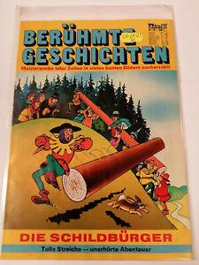 Bastei Sonderband Nr 19 (1-/1-2) 1970 Die Schildbürger Berühmte Geschichten