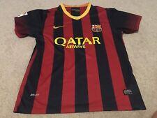 BARCELONA 13/14 Home Football Shirt (L) Soccer Jersey Nike