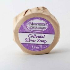 Mountain Well-Being Colloidal Silver Soap / Smooth Younger Looking Skin - 3.9 oz