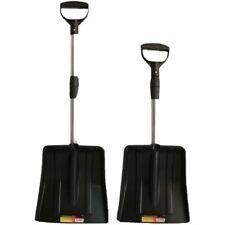 Blackspur Light Weight Snow Shovel Metal Handle Durable Heavy Duty Spade