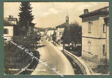 Lombardia. GODIASCO, Pavia. Via Vittorio Emanuele. Cartolina viaggiata nel 1954.