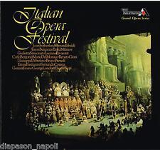 Italian Opera Festival: Sutherland, Tebaldi, Berganza, Pavarotti LP Decca NM  NM