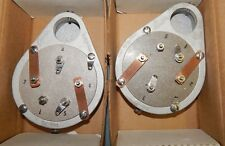 2 PIECES * PAIR 4-1000A NEW NOS NIB EIMAC TUBE SOCKET SK-400 SK 400 VINTAGE USA