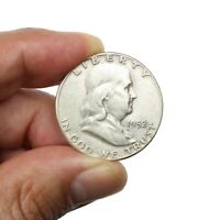 Pièce Argent Etats-Unis Demi Dollar Franklin 1952 USA Silver Coin