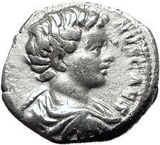 CARACALLA 196AD Genuine Authentic Ancient Silver Roman Coin Minerva Rare  i59503