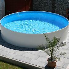 Markenlose stahlwandpools schwimmbecken g nstig kaufen ebay - Poolunterlage rund ...
