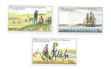 Norfolk Island-Pitcairn Migration set mnh