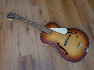 Alte Jazzgitarre Framus 5/50