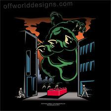 T-shirt Kaiju Landmine Japanese Monster Brick Funny OffWorld Designs