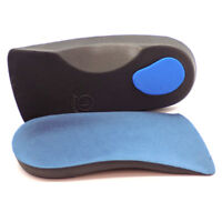 3/4 Orthotic Arch Support Insoles For Plantar Fasciitis Fallen Arches Flat Feet