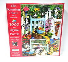 The Knitting Chair Jigsaw Puzzle 1000 Piece