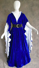 Renaissance Medieval Dress SCA GOT Ren Faire Game of Thrones LOTR Velvet Luxury