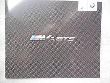 BMW M4 GTS (F82) - Prospekt / brochure von 2015 - limitiert - DEUTSCH - WOW RAR
