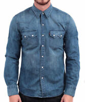 Levi's Men's Classic Long Sleeve Denim Button Up Casual Dress Shirt 81005