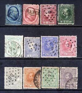 Netherlands 1864 - 1875 CV $85US L#5885
