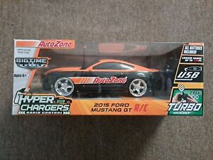 Limited Edition 2015 Ford Mustang GT R/C Auto Zone Hyper Chargers Open Box