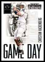 2016 PANINI CONTENDERS GAME DAY CHRISTIAN HACKENBERG RC PENN STATE NITTANY LIONS