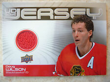2010-11 UD Game Jersey #GJ-DW Doug Wilson Jrsy Card