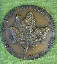 Tschechei - Medaille - Für Jugendliche Frieden Sozialismus - Junge Front - 1980