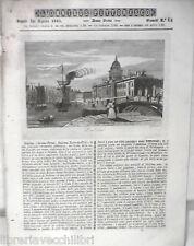 ANTICA STAMPA INCISIONE 1843 Dublino Cristoforo Colombo Costumi Morlacchi di e