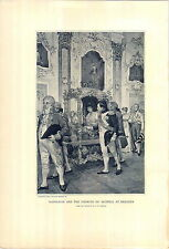 1897 Napoleon Bonaparte Empress Of Austria At Dresden PRINT