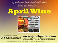 Custom Guitar Lessons, learn April Wine (Dvd Video)