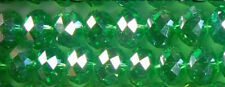NEW 72pcs Green Swarovsk Crystal Gem Loose Beads 8x5mm AAA