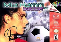 Mia Hamm Soccer 64 USA Nintendo 64 N64 OEM Video Game Cart Retro Kids Original