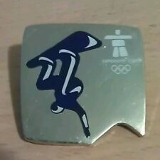 2010 OLYMPIC PIN VANCOUVER BRITISH COLUMBIA LOTTERY CORPORATION PUZZLE SNOWBOARD