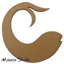 Chinese Fish - Wooden Cut-out - 300x285mm