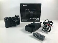 Canon PowerShot G9 X Mark II schwarz mit OVP Kamera in top Zustand wie neu