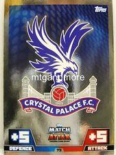 Match Attax 2014/15 Premier League - #073 Crystal Palace - Wappen