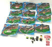 12 Coca-Cola Lego Soccer/Football Figures Japan World Cup 2002 MISP Rare Lot